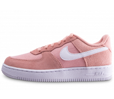 Chaussures Nike Air Force 1 rose enfant