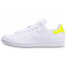 Chaussures adidas Stan Smith blanc jaune
