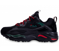 Chaussures Fila Ray Tracer noire rouge vert