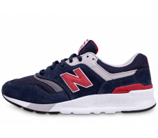 Chaussures New Balance 997 bleue et rouge
