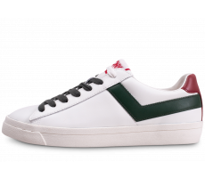 Chaussures Pony TopStar blanc rouge vert
