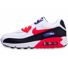 Chaussures Nike Air Max 90 Essential blanc rouge violet