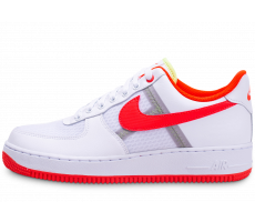 Chaussures Nike Air Force 1 '07 LV8 blanc orange