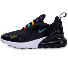 Chaussures Nike Air Max 270 noir rouge jaune femme