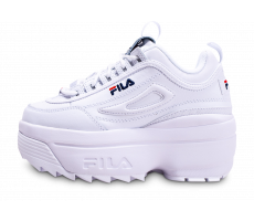 Chaussures Fila Disruptor Wedge blanche