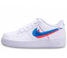 Chaussures Nike Air Force 1 LV8 Low 3D blanche junior