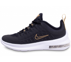 Chaussures Nike Air Max Axis Noire Blanche et Or Junior