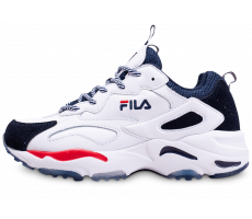 Chaussures Fila Ray Tracer blanche junior