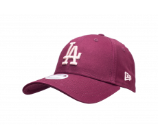 Accessoires New Era Casquette 9Forty League Essential Los Angeles Dodgers Bordeaux