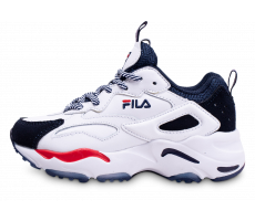 Chaussures Fila Ray Tracer blanc bleu rouge enfant