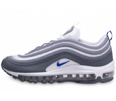 Chaussures Nike Air Max 97 gris bleu royal