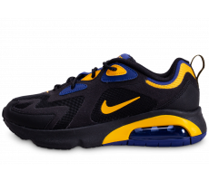 Chaussures Nike Air Max 200 noire bleue or
