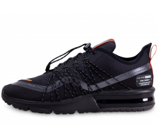 Chaussures Nike Air Max Sequent 4 Shield noire et orange
