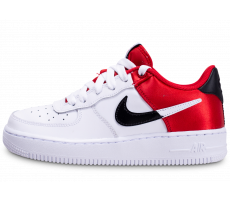 Chaussures Nike Air Force 1 LV8 rouge NBA junior