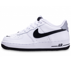 Chaussures Nike Air Force 1 LV8 blanc noir gris junior