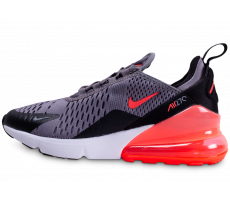 Chaussures Nike Air Max 270 grise et rose junior