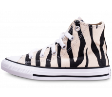 Chaussures Converse Chuck Taylor All Star High Zebra enfant