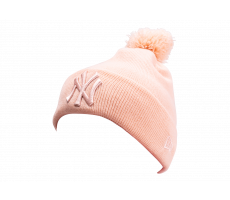Accessoires New Era Bonnet League Essential rose pompom