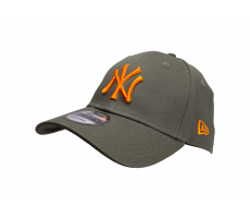 Accessoires New Era Casquette Essential 9/40 New York Yankees kaki et orange