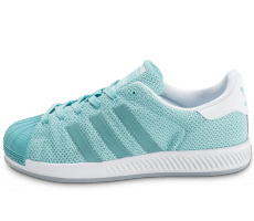 Chaussures adidas Superstar Bounce turquoise