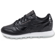 Chaussures Reebok Classic Leather L Pearl noire