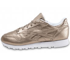 Chaussures Reebok Classic Leather W Melted Metals or
