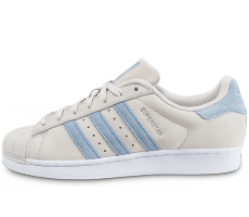 Chaussures adidas Superstar Suede Pearl Grey