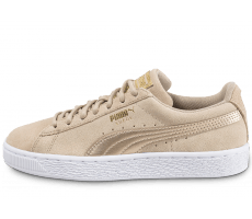 Chaussures Puma Suede W Safari Metallic beige