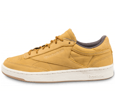brand new c4780 5ceb8 Chaussures Reebok Club C 85 WP beige