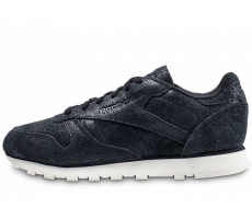 Chaussures Reebok Classic Leather Shimmer noire