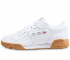 Chaussures Reebok Workout Plus blanc Gum