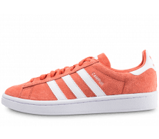 the best attitude f9639 a6434 Chaussures adidas Campus corail et blanc