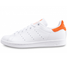 Chaussures adidas Stan Smith blanche et orange