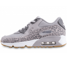 Chaussures Nike Air Max 90 Animal Junior léopard grise