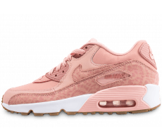 Chaussures Nike Air Max 90 junior léopard rose orangé