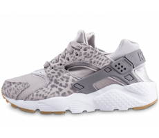 Chaussures Nike Air Huarache Run junior gris léopard