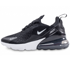 sports shoes 1306d c429a Chaussures Nike Air Max 270 junior noire et blanche