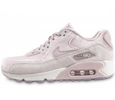 Chaussures Nike Air Max 90 velours rose