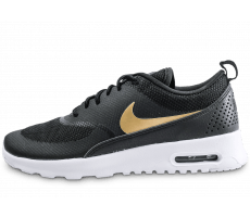 Chaussures Nike Air Max Thea noire et or