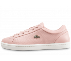 Chaussures Lacoste Straightset rose clair