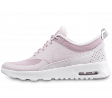 Chaussures Nike Air Max Thea  LX rose et blanche