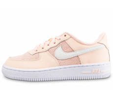 Chaussures Nike Air Force 1 Low enfant rose saumon