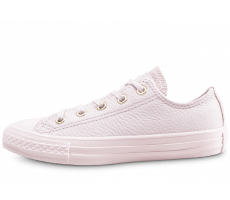 Chaussures Converse Chuck Taylor All Star OX enfant rose