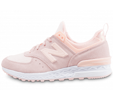 Chaussures New Balance WS574SND rose