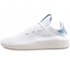 Chaussures adidas Pharrell Williams Tennis Hu junior blanche et bleu