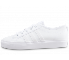 Chaussures adidas Nizza junior triple blanc