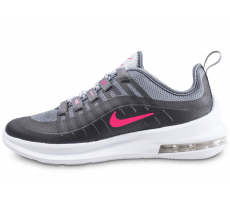 san francisco ced42 28aa4 Chaussures Nike Air Max Axis junior noire et rose