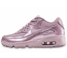 Chaussures Nike Air Max 90 SE Leather junior Elemental rose