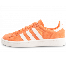 Chaussures adidas Campus orange femme