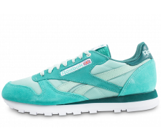 Chaussures Reebok Classic Leather Montana Cans Color System Verte